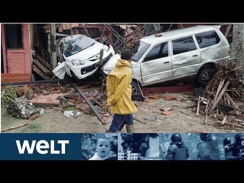 WIEDER TSUNAMI ZU WEIHNACHTEN: Hunderte Tote und Verletzte auf Sumatra