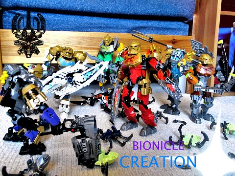 BIONICLE CREATION Stop Motion Film