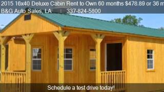 Portable Cabins for Sale in Louisiana - BuyerPricer.com