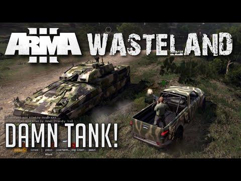 Arma 3 Wasteland - Damn Tank!