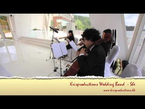 Wedding String Quartet Hong kong - Auberge Discovery Bay Hotel White Chapel - SHE (Notting Hill)