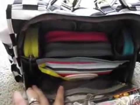 c19b9853459 What s in my Diaper Bag Organization - YouTube