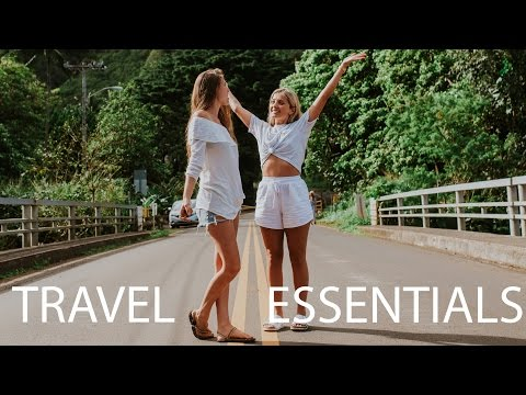 Minimalist Eco&Vegan Travel Essentials + What I packed for Hawaii!