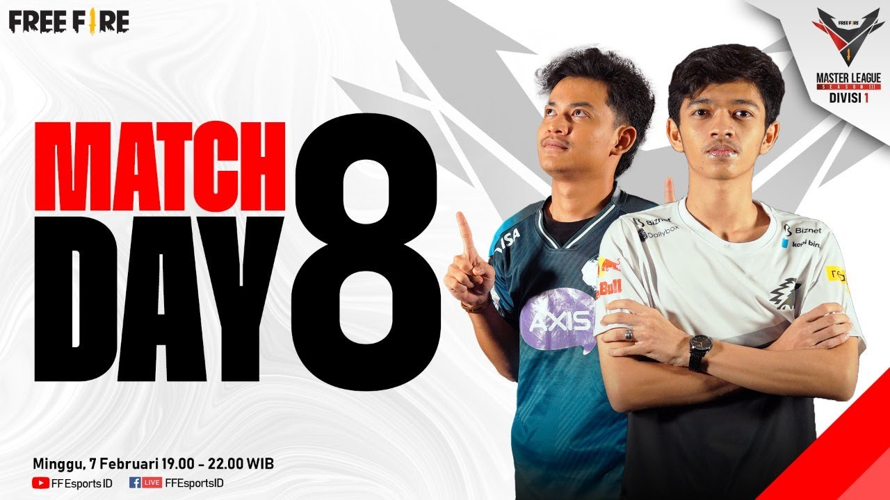 Download [2021] Free Fire Master League Season III Divisi 1 - Match Day 8