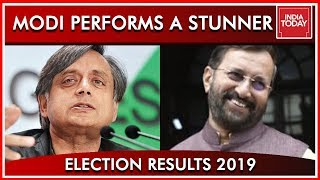 Prakash Javadekar And Shashi Tharoor Speaks To India Today After Modi's Stunner| Results 2019