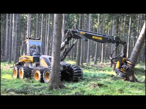 Ponsse Ergo 8w Harvester im Starkholz