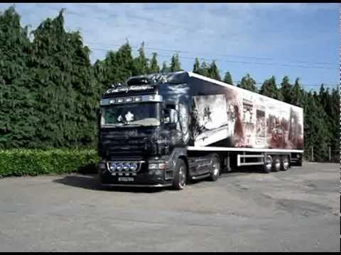 Scania V8 des Transports Yvoir