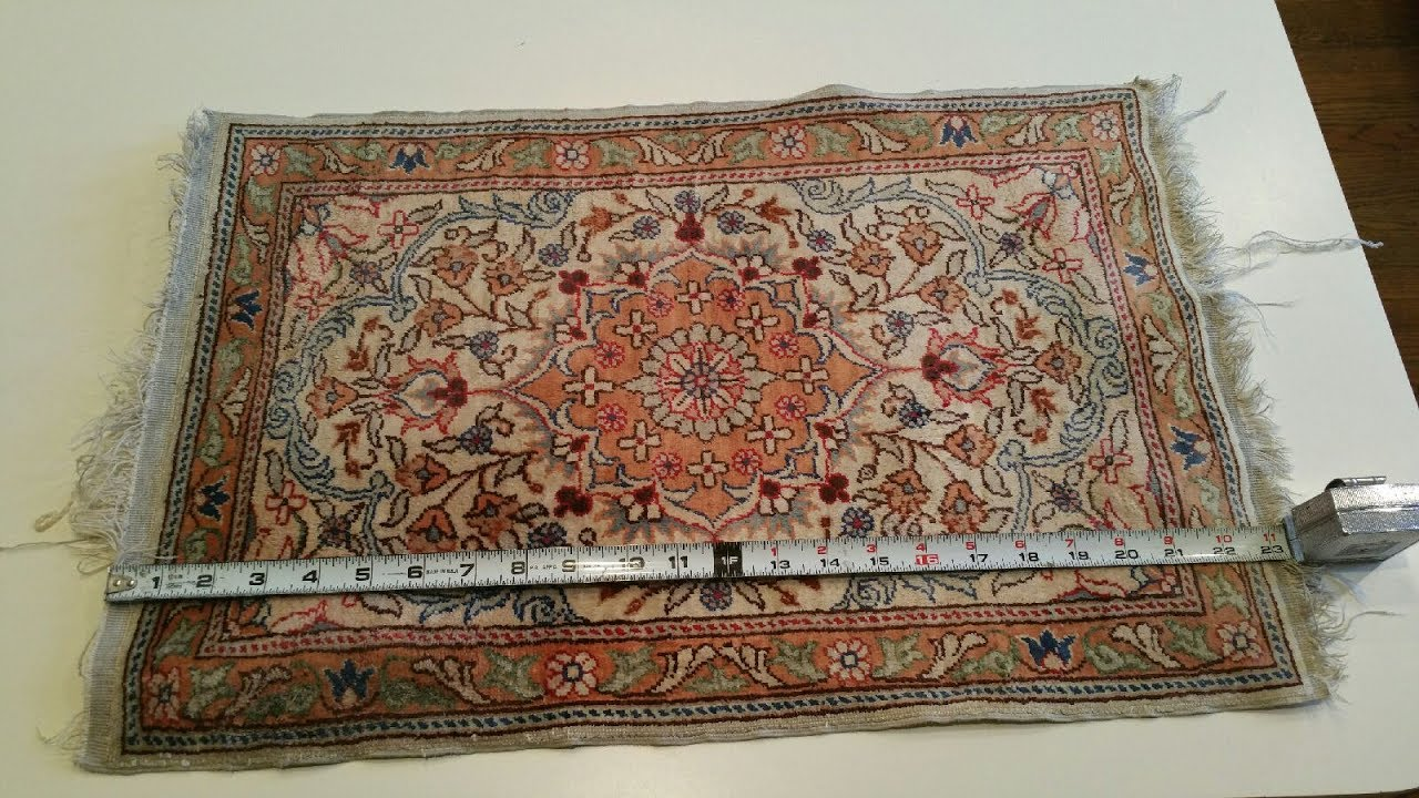 Hand Knotted Rug Clean From Cat Urine Odor