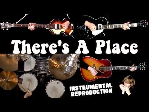 there's-a-place---guitars,-bass,-drums-and-harmonica---instrumental-cover