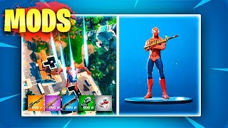 MODS de ARMAS Y SKINS en FORTNITE: Battle Royale