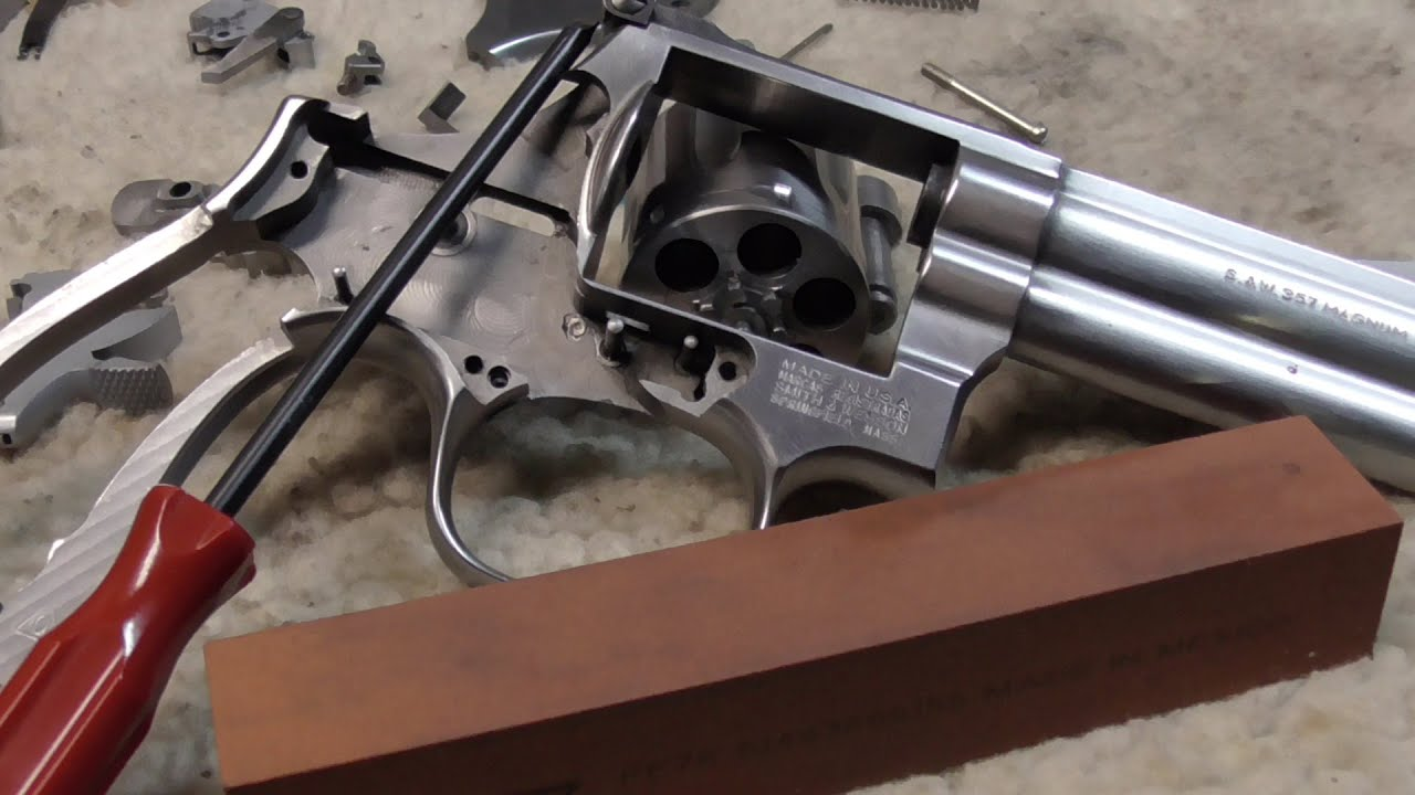 S&W Revolver Trigger Job How-To (3 Methods) - Pew Pew Tactical