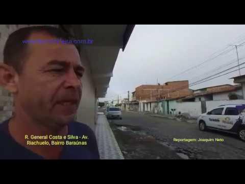 Falta de saneamento em ruas do bairro Baraúnas