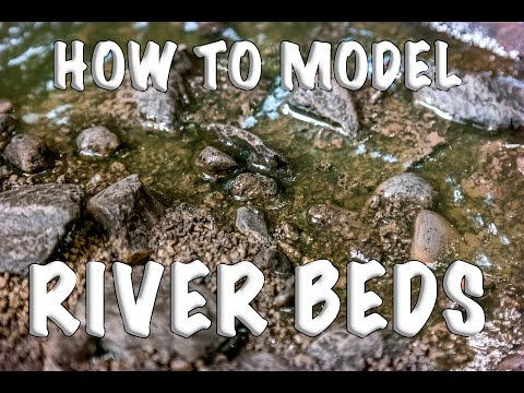 How to Model a River or Stream bed