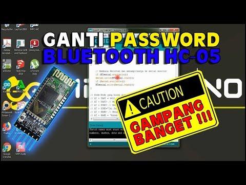 Mengganti Password Dan Nama Pada Bluetooth HC-05