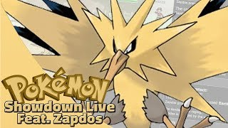 Agility Zapdos! Pokemon Sun and Moon OU Showdown Live W/OPJellicent (Smogon OU Team)