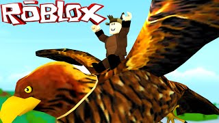 Roblox Adventures / Bird Simulator / BECOMING A BIRD!