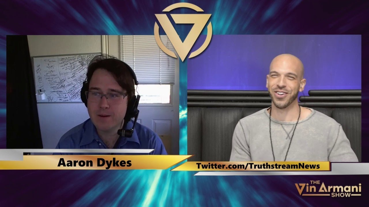 The Vin Armani Show (11/28/16) - Aaron Dykes of Truthstream Media