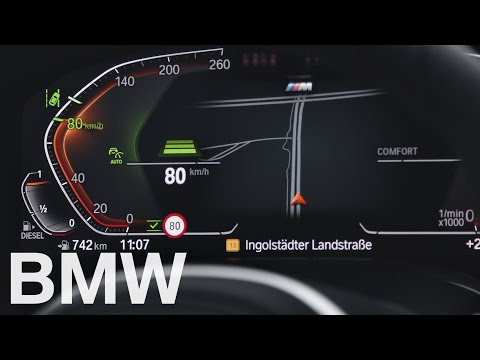 Adapt your speed automatically to speed limits – BMW How-To