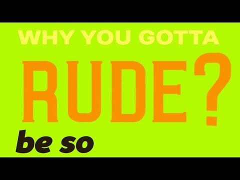 Rude (Zedd Remix) [Magic!] - Lyric Video