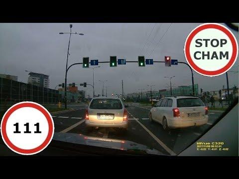 Stop Cham #111 – Niebezpieczne i chamskie sytuacje na drogach