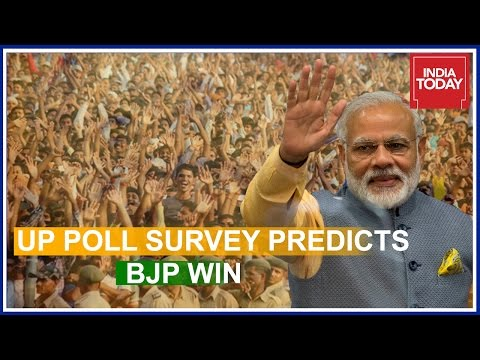 India Today - Axis Pre Poll Survey Predicts BJP Victory In Uttar Pradesh | Part 1
