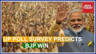 India Today - Axis Pre Poll Survey Predicts BJP Victory In Uttar Pradesh | Part 1