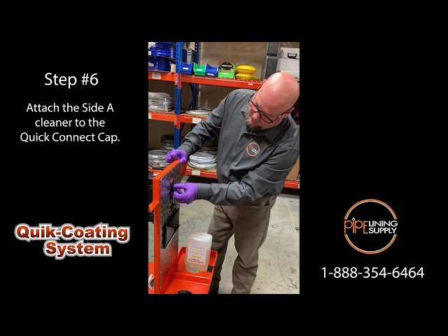 Quik-Coating Maintenance Kit from Pipe Lining Supply