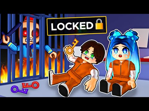 Getting LOCKED in Roblox Prison...
