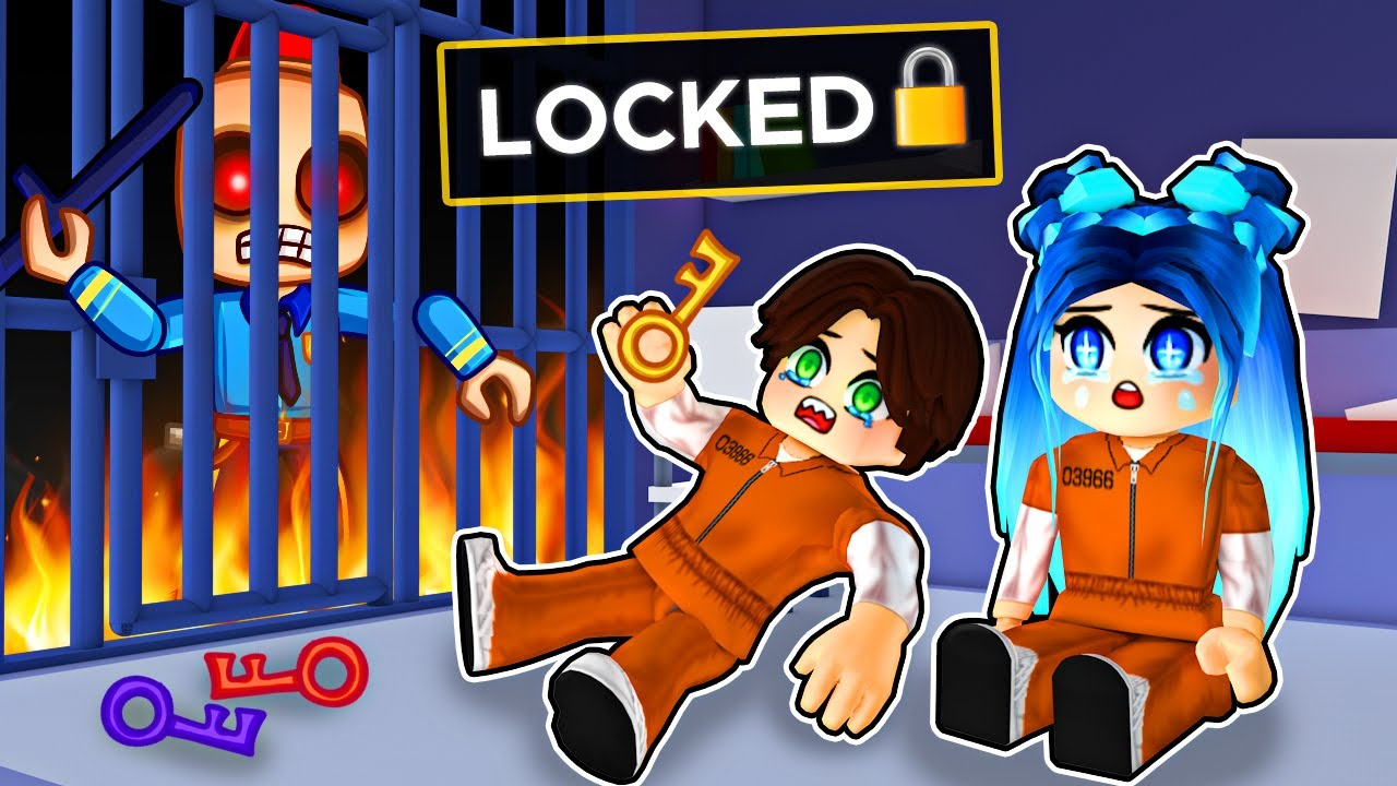 Download Getting LOCKED in Roblox Prison...