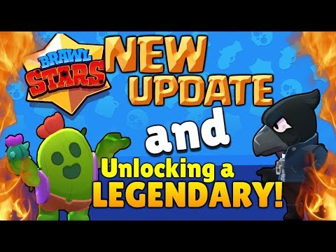 Brawl Stars Update + BOX OPENING - Unlocking a Legendary Brawler! Best Brawl Box Opening!!