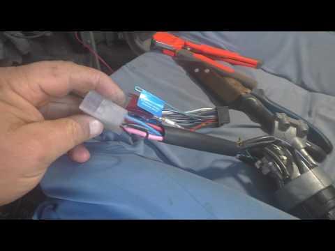 Подключение магнитолы на  ВАЗ 2108-2115 и т. д. где взять + на магнитолу .