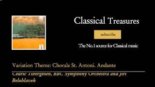 Johannes Brahms - Variation Theme: Chorale St. Antoni. Andante
