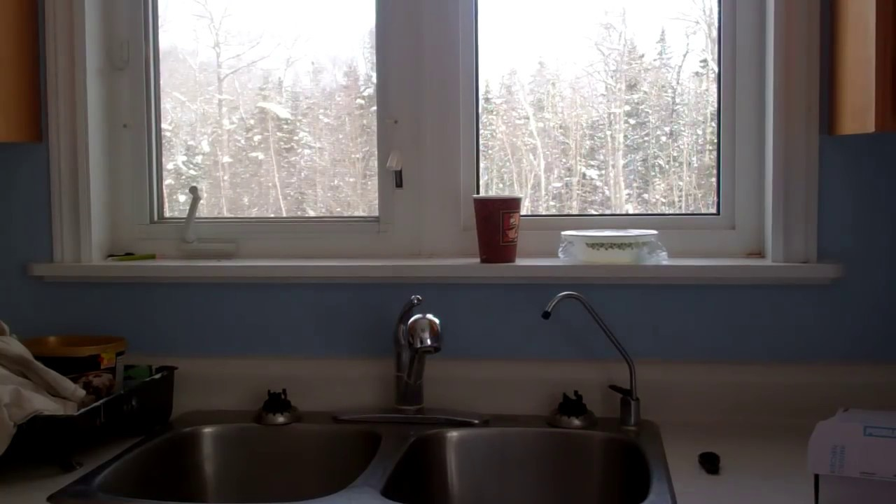 how to remove an old kitchen faucet and install a new one youtube - Fitting Kitchen Sink