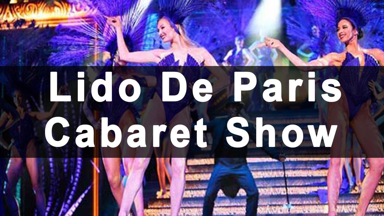 Lido de paris cabaret show youtube for Show a paris