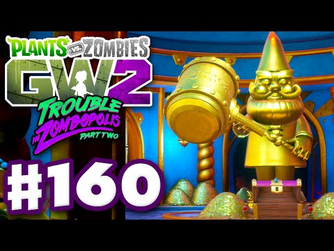 Plants vs. Zombies: Garden Warfare 2 - Gameplay Part 160 - All 54 Gnomes and Lever Puzzle! (PC)