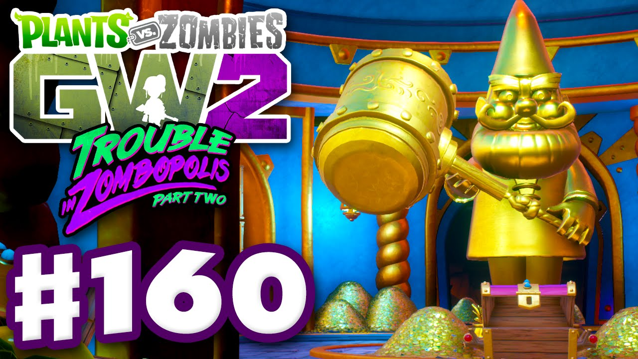 Plants Vs Zombies Garden Warfare 2 Gameplay Part 160 All 54 Gnomes And Lever Puzzle Pc