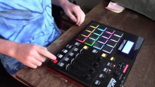 Making A Beat On An Akai MPD 226 #9