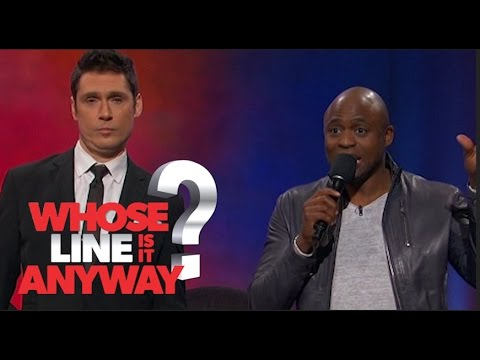 Prince and Keanu Reeves Duet - Whose Line Is It Anyway? US