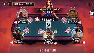 200 cr blind pot with javed saif Teenpatti Gold India Chips Seller