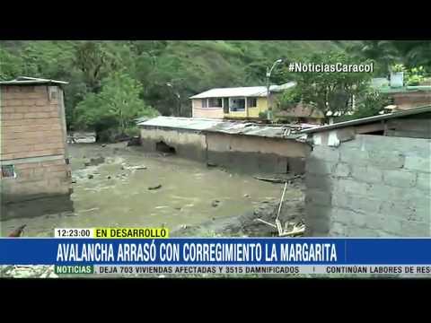 En video: la furia de la naturaleza devastó en Salgar, Antioquia 18 Mayo 2015