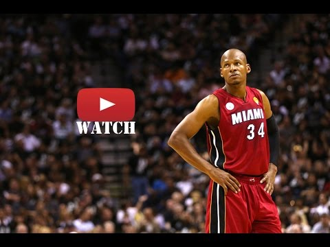 Ray Allen 2013 Season Highlights 【Part1】