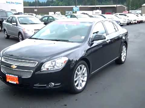 Sold 2010 Chevrolet Malibu Ltz Black Enumclaw Seattle