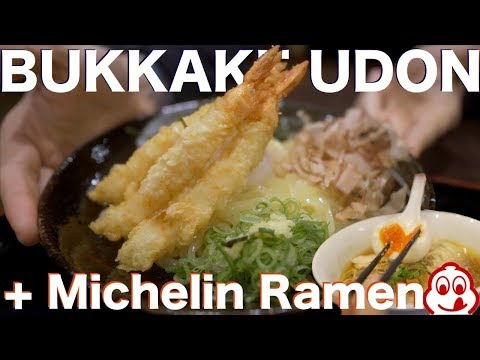 Michelin Ramen + Bukkake Udon In Tokyo, Japan