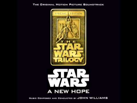 Star Wars: A New Hope Soundtrack - 08. Tales Of A Jedi Knight/Learn About The Force*