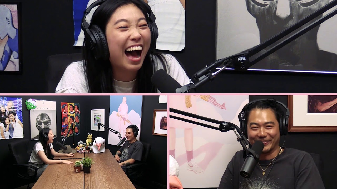 Awkwafina Makes Her Grandma Proud | Fun With Dumb