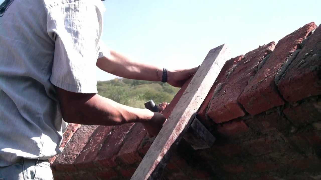 Construcci n de una casa domo youtube - Construccion de chimeneas de ladrillo ...