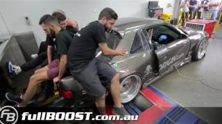 2JZ Silvia by JDM Industries on dyno