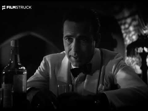 CASABLANCA, Michael Curtiz, 1942 - Sam & Rick Have A Drink