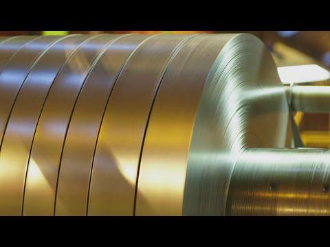 Inside Tata Steel S Light Gauge Slitting Operation Youtube