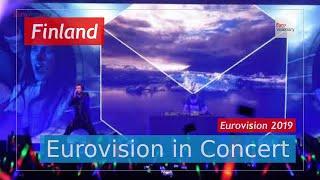 Finland Eurovision 2019 Live: Darude feat. Sebastian Rejman - Look Away - Eurovision in Concert